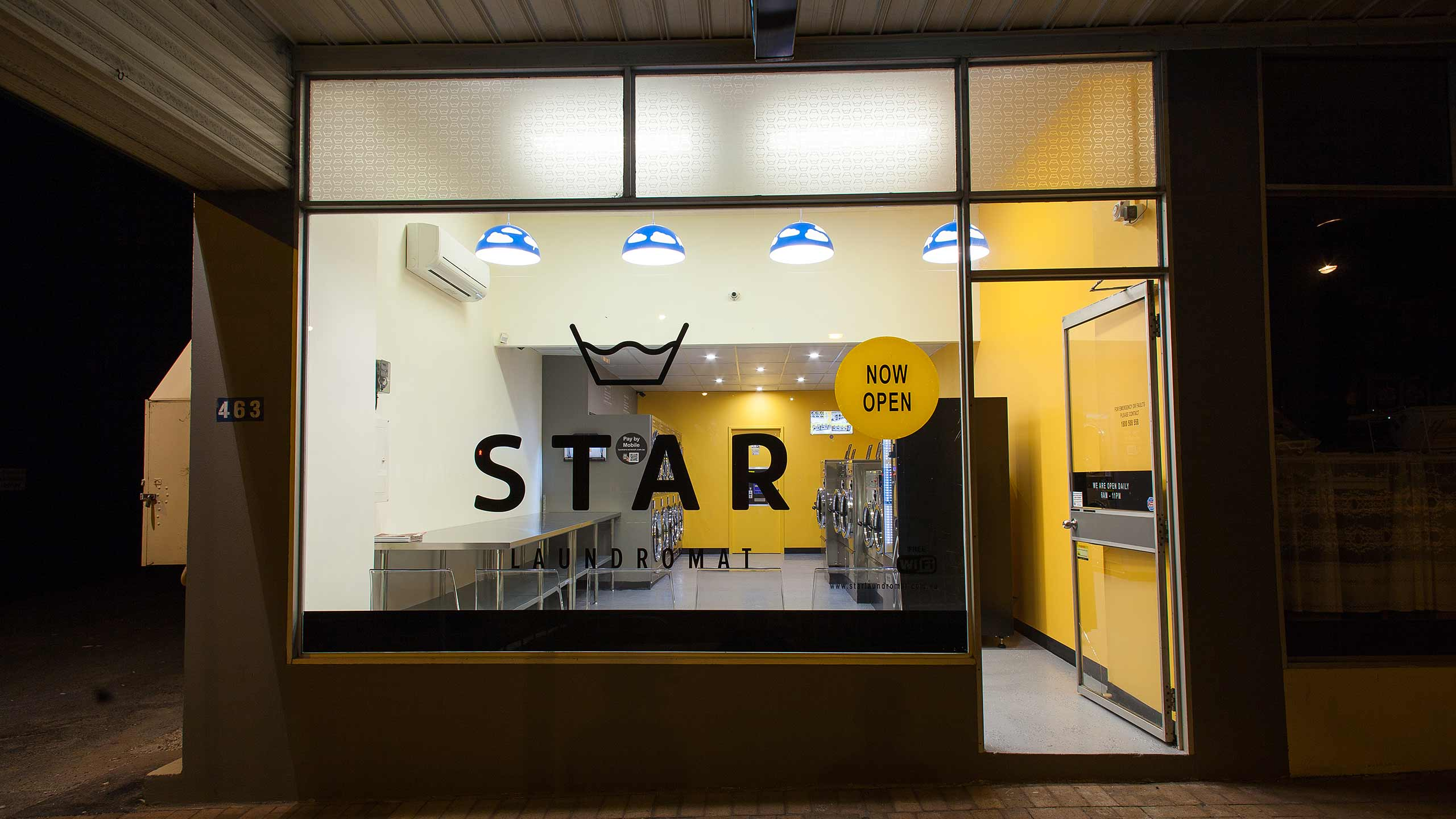 star-laundromat-tusmore-front